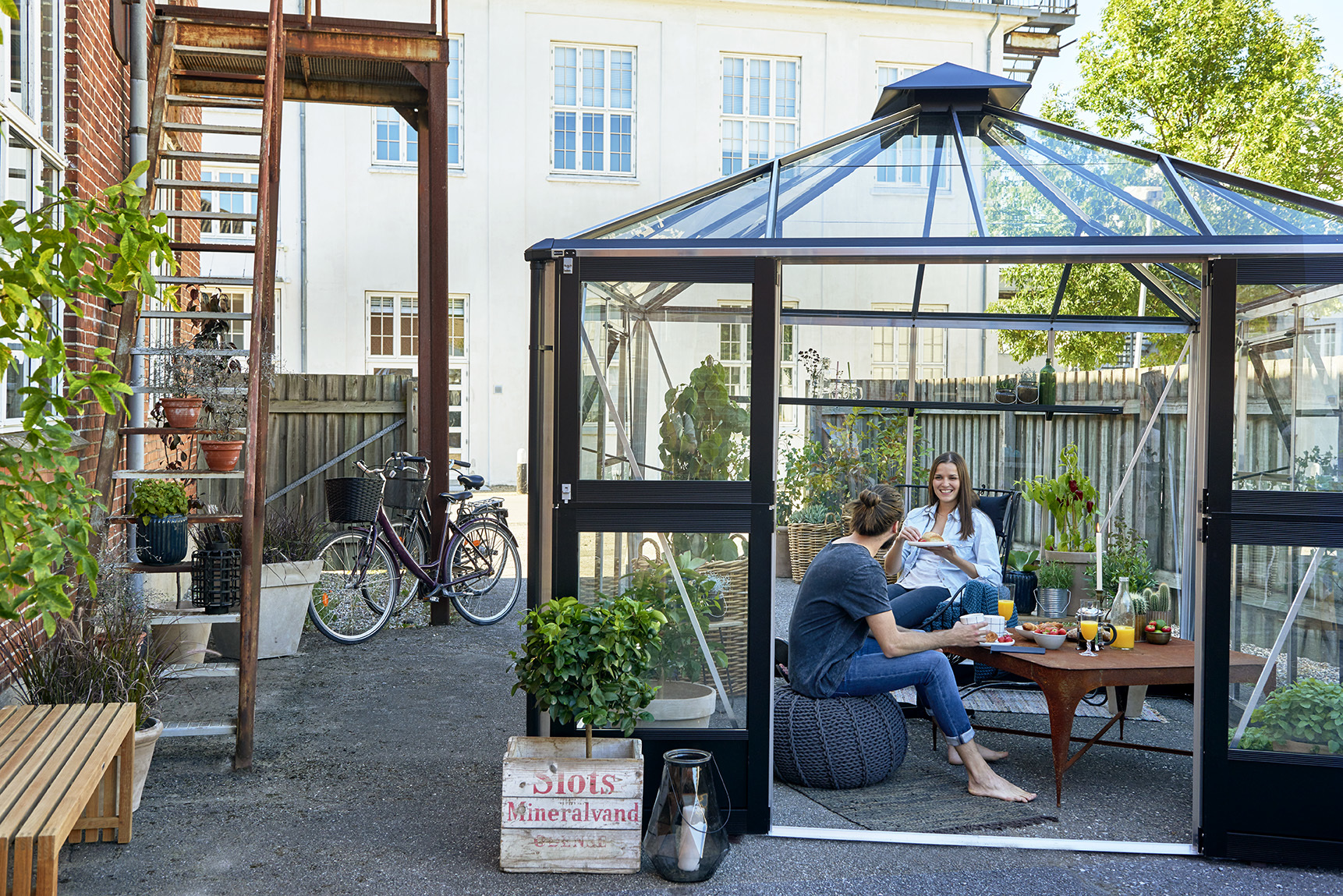 frame online buy gardening shelf greenhouse polycarbonate house portable outsunny aosom at grow garden cold wooden canada greenhouses